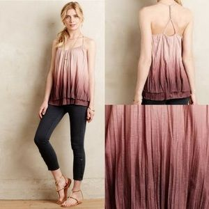Anthro Akemi + Kin Ombré Layered Swing Tank Large